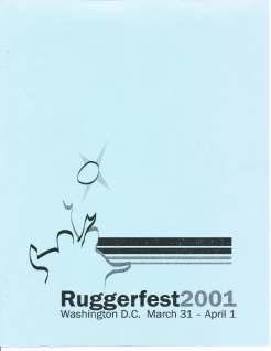 Ruggerfest 2001 Program Cover