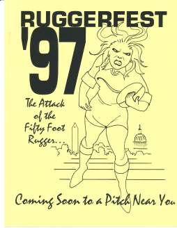 Ruggerfest 1997 Program Cover