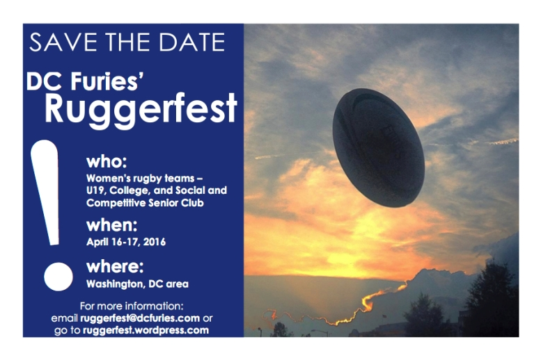 Ruggerfest 2016 Save the Date